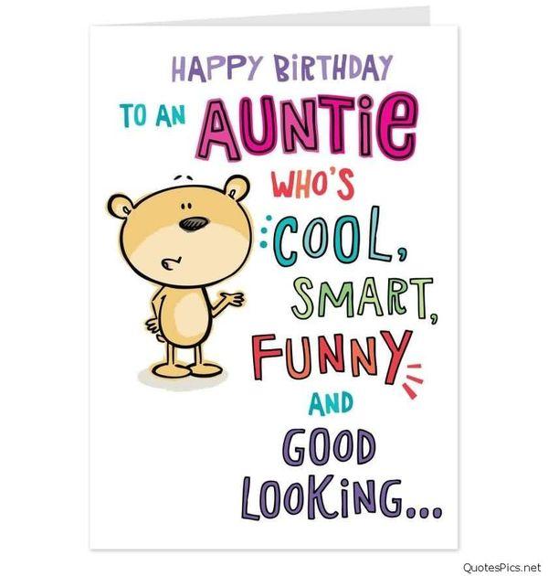 Happy Birthday To An Auntie Aunty Birthday Wishes