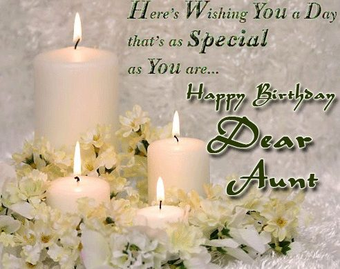 Here's Wishing You A Day Aunty Birthday Wishes