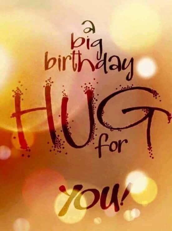 A Big Birthday Hug Couple Birthday Wishes