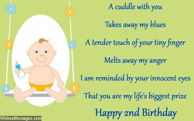 A Cuddle With You Baby Boy Birthday Wishes