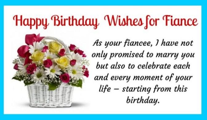 As Your Fiance I Fiance Birthday Wishes