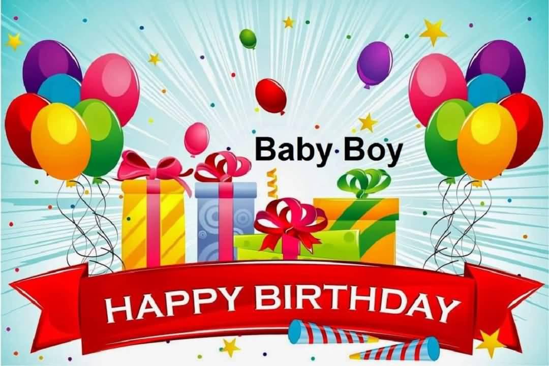 Baby Boy Happy Birthday Baby Boy Birthday Wishes