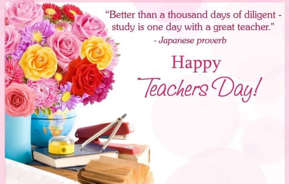 Better Than A Thousand Teacher Birthday Wishes