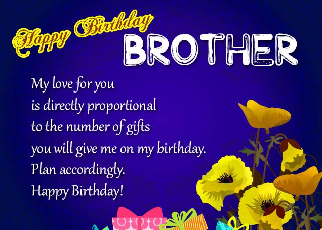 Brother My Love For You Brother Birthday Wishes