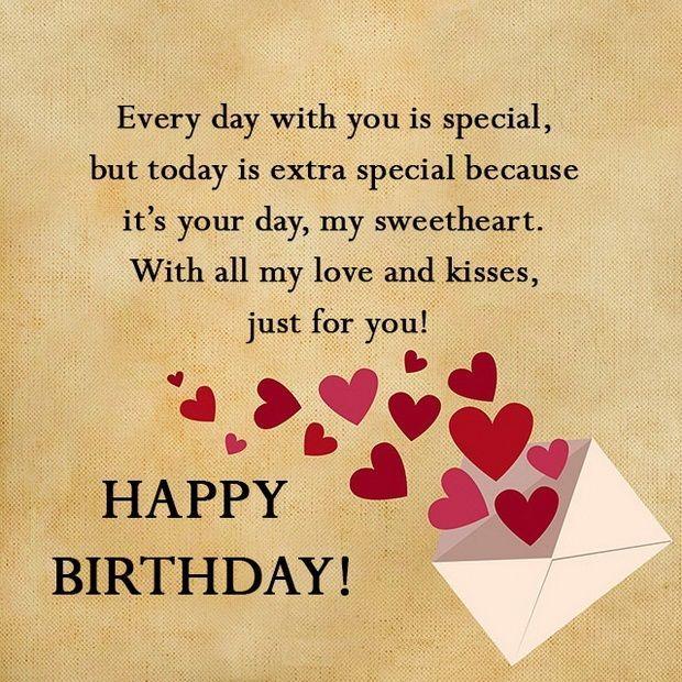 Every Day With You Boyfriend Birthday Wishes