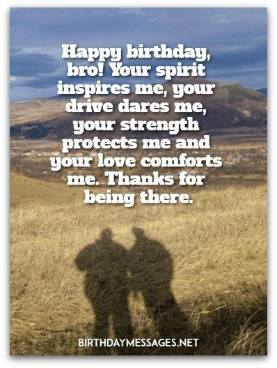 Happy Birthday Bro! Your Brother Birthday Wishes