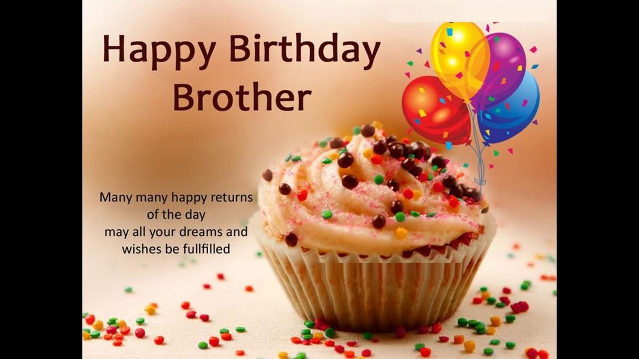 Happy Birthday Brother Many Many Brother Birthday Wishes