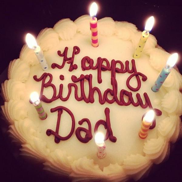 Happy Birthday Dad Cake Dad Birthday Wishes