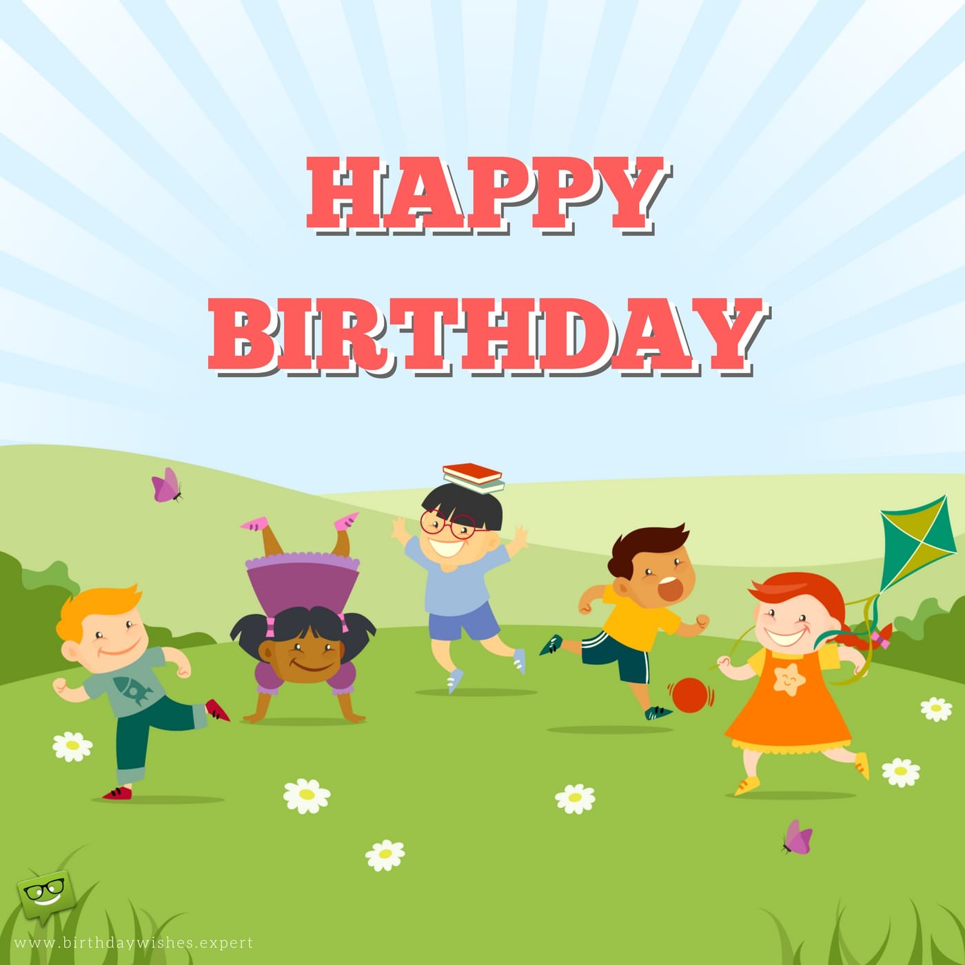 Happy Birthday Dear Kids Kids Birthday Wishes