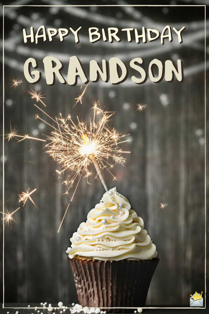 Happy Birthday Grandson Cake Grandson Birthday Wishes
