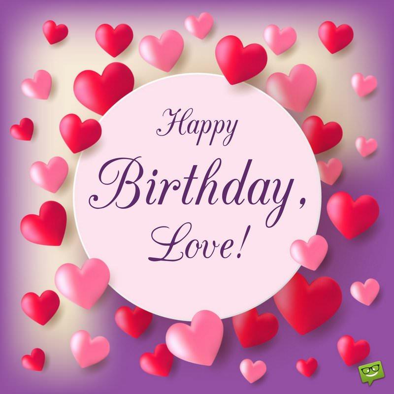 Happy Birthday Love! Husband Birthday Wishes