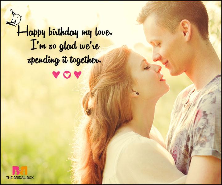 Happy Birthday My Love Couple Birthday Wishes