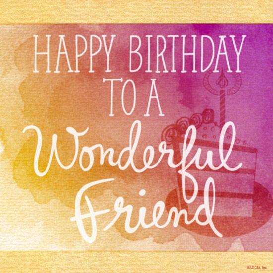 Happy Birthday To A Friend Birthday Wishes