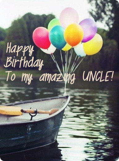 Happy Birthday To My Awesome Uncle Birthday Wishes