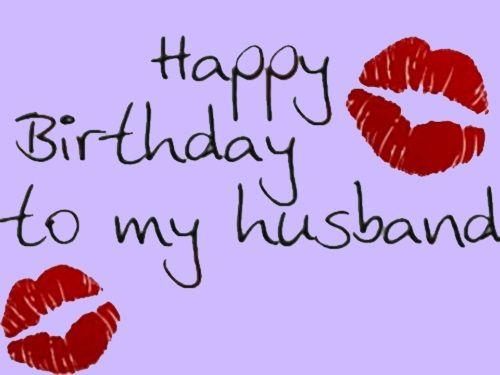 Happy Birthday To My Husband Husband Birthday Wishes