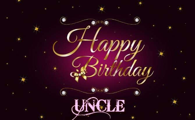 Happy Birthday Uncle Uncle Birthday Wishes