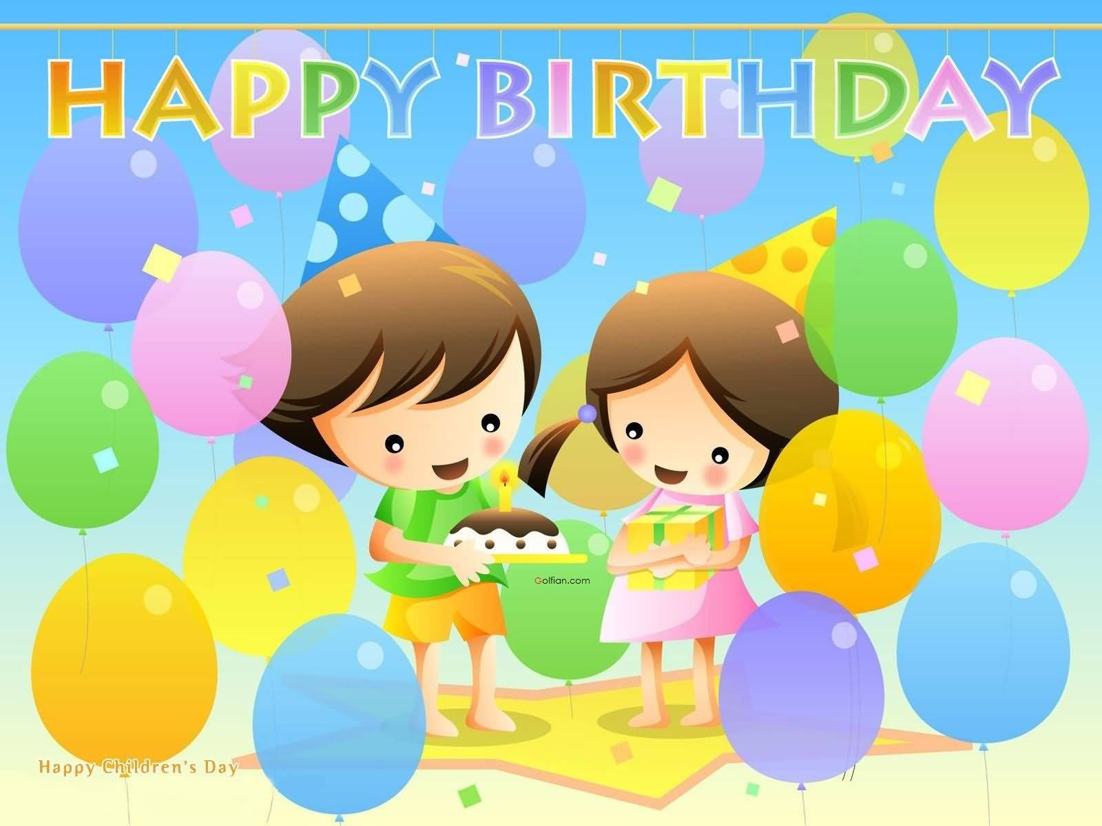 Happy Birthday Wishes For Kids Kids Birthday Wishes