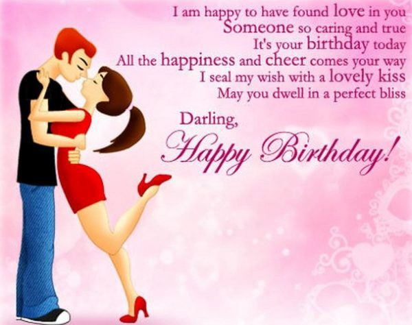 I Am Happy To Have Boyfriend Birthday Wishes