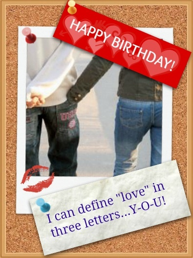 I Can Define Love Couple Birthday Wishes