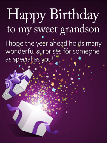 I Hope The Year Grandson Birthday Wishes