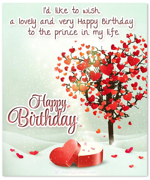 I'd Like To Wish Boyfriend Birthday Wishes