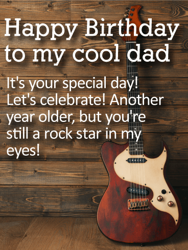 It's Your Special Day Dad Birthday Wishes