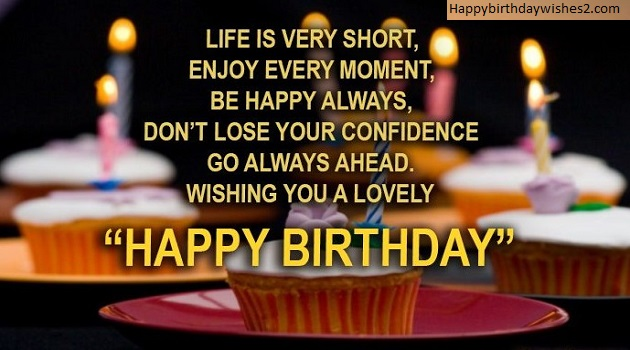 Life Is Very Short Friend Birthday Wishes