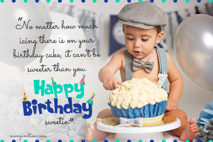 No Matter How Much Baby Boy Birthday Wishes