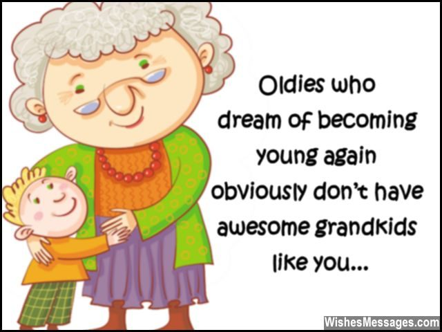Oldies Who Dream Of Grandson Birthday Wishes