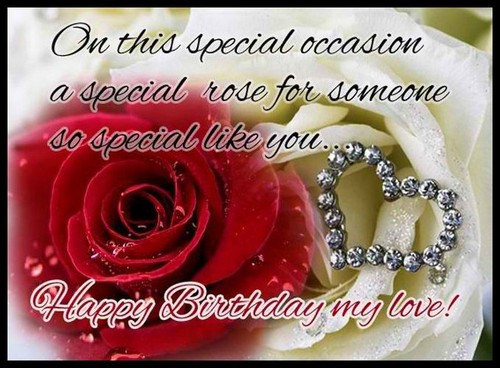 On This Special Occasion Someone Special Birthday Wishes