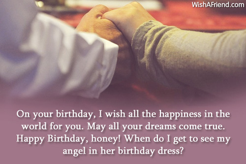 On Your Birthday I Wish Girlfriend Birthday Wishes