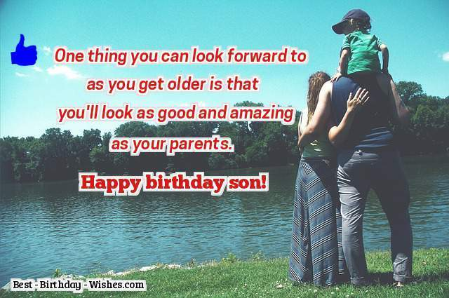 One Thing You Can Look Parents Birthday Wishes