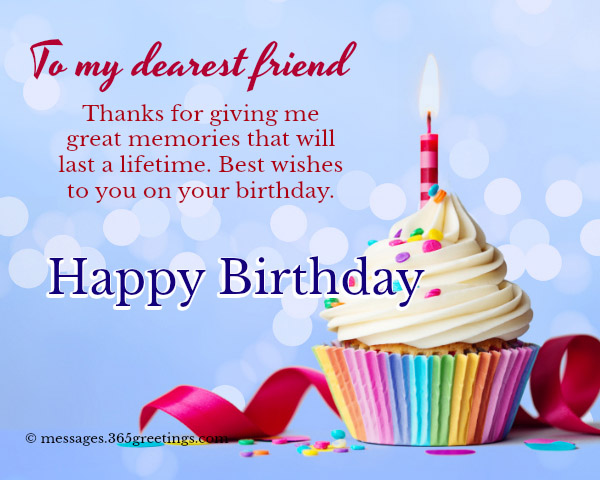 Thanks For Giving Me Friend Birthday Wishes