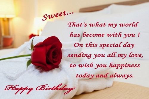 That's What My World Someone Special Birthday Wishes