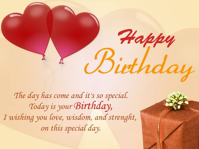 The Day Has Come Fiance Birthday Wishes