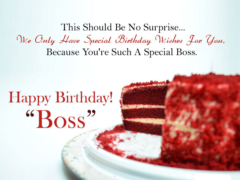 This Should Be No Boss Birthday Wishes