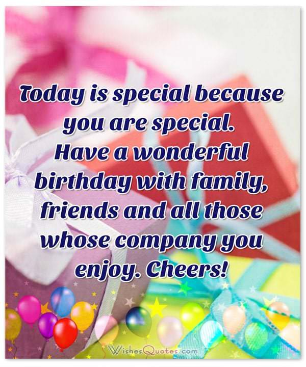 Today Is Special Because Someone Special Birthday Wishes