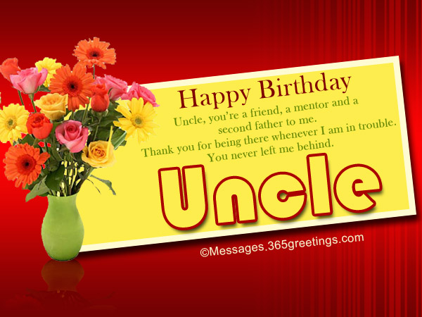 Uncle You're A Friend A Mentor Uncle Birthday Wishes