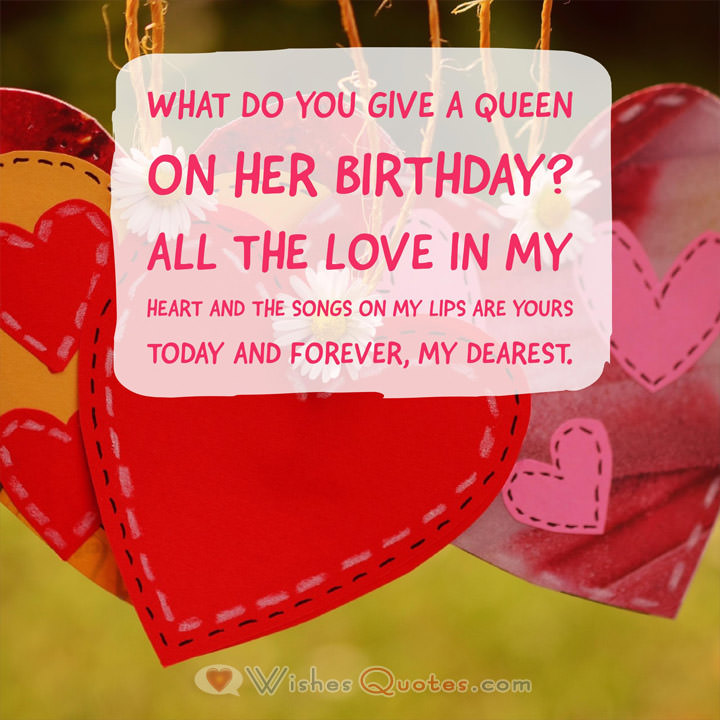 What Do You Give Girlfriend Birthday Wishes