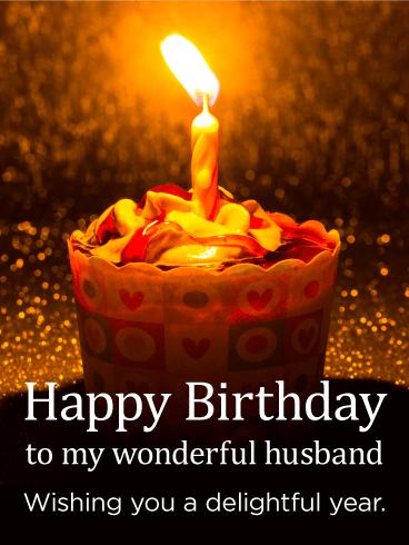 Wishing You A Delightful Husband Birthday Wishes