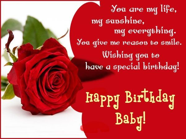You Are My Life Girlfriend Birthday Wishes