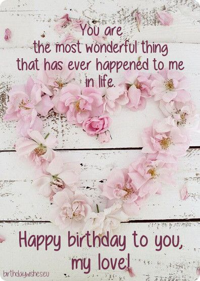 You Are The Most Wonderful Someone Special Birthday Wishes