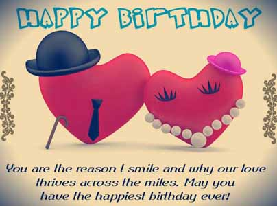 You Are The Reason Fiance Birthday Wishes