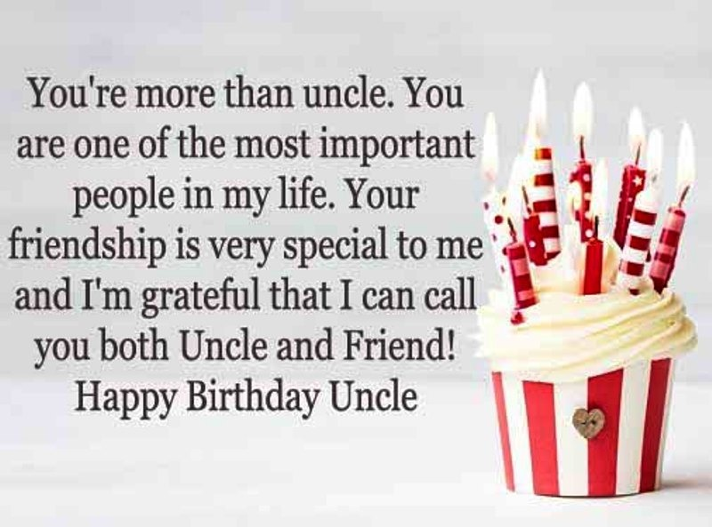 You're More Than Uncle You Uncle Birthday Wishes