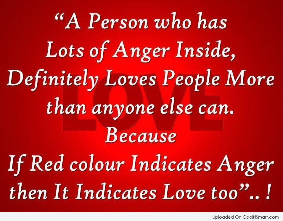 A Person Who Has Anger Quotes
