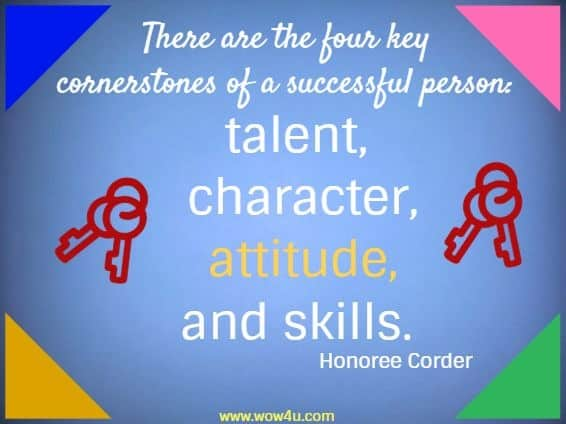 There Are The Four Attitude Quotes