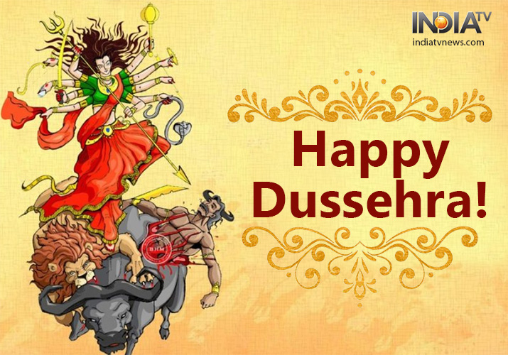 Greetings of Happy Dussehra