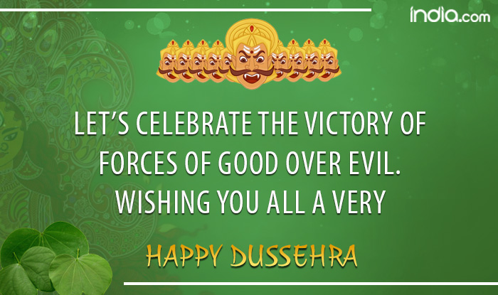 Lets celebrate Happy Dussehra