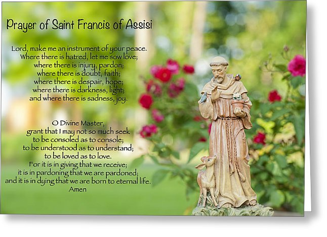 Lord make me Feast of St Francis of Assisi