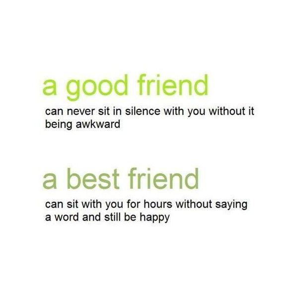 A Good Friend A Best Friend Awkward Still Be Smile